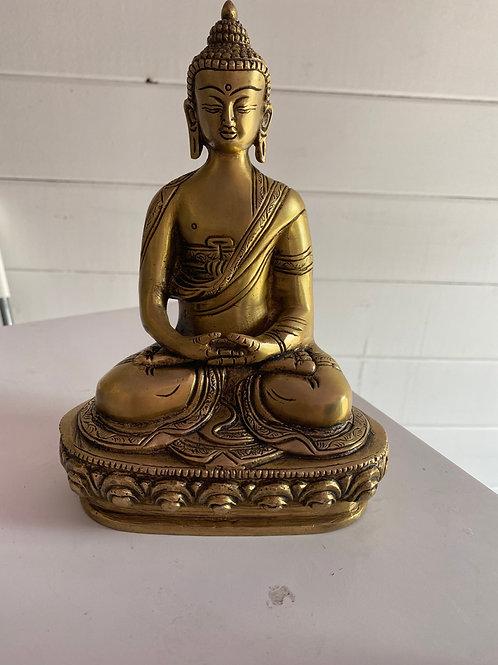 statue Bouddha Amithaba 20 cm