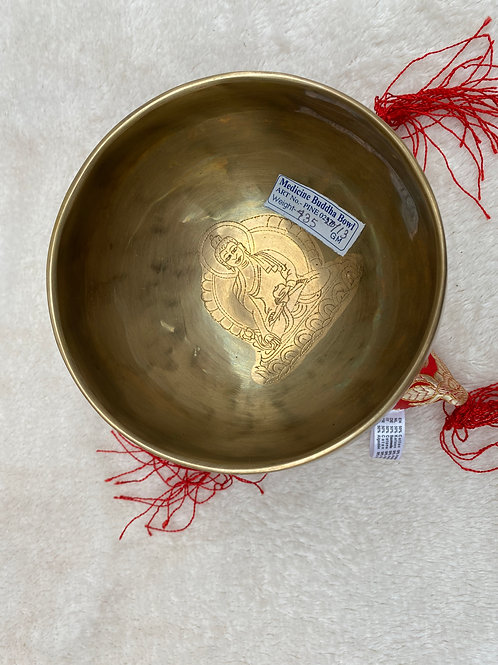 bol chantant bouddha médecine  13 cm