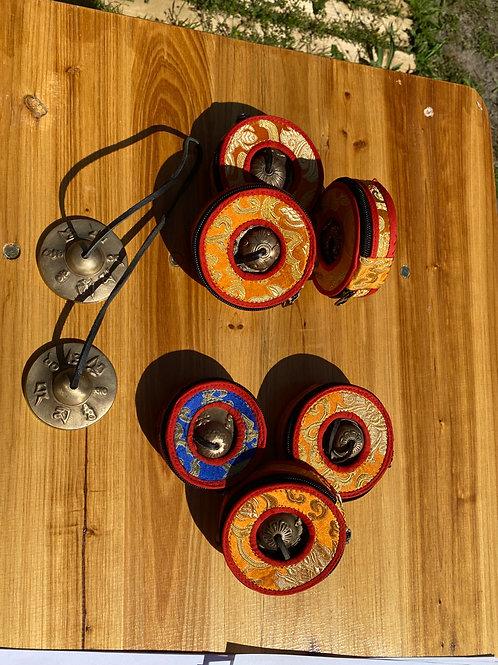 cymbales et sa housse