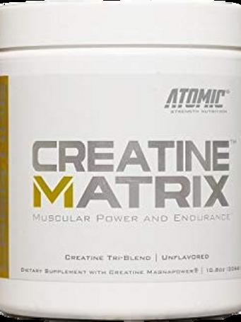 ATOMIC CREATINE MATRIX 60SERV