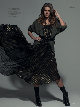 model C. GENARI agency ALLURE photo C. ZANIN beauty E.D. CASTRO