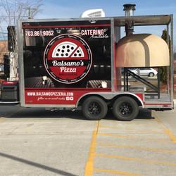 Balsamo's Pizza Catering Truck