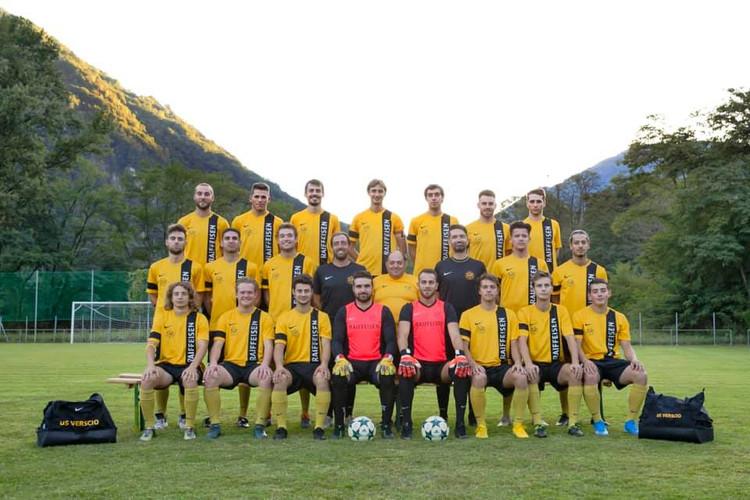 Prima squadra USV stagione 19/20