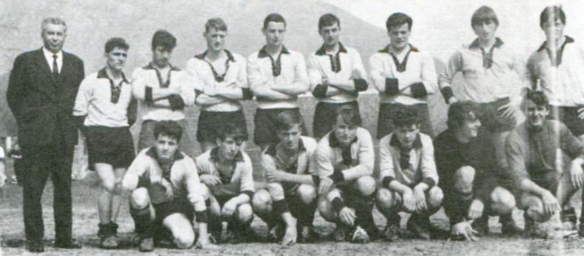 Edgardo Scheu e i suoi allievi