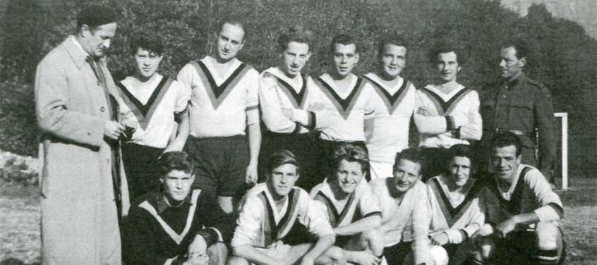 La prima squadra 1953