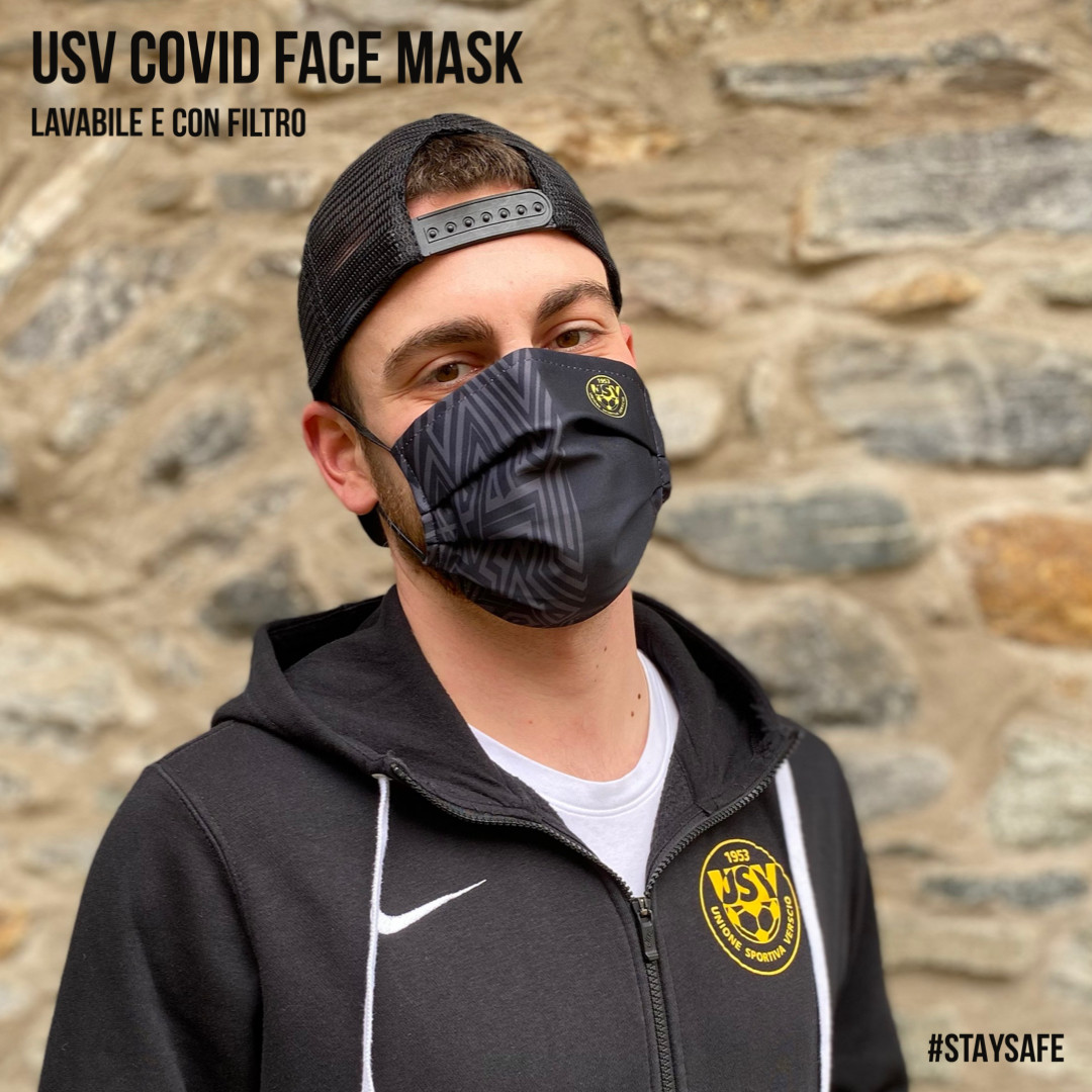 USV Covid face mask