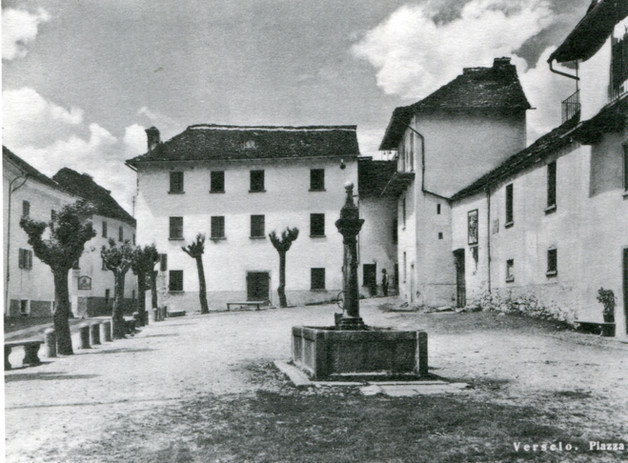 Piazza di Verscio 1953