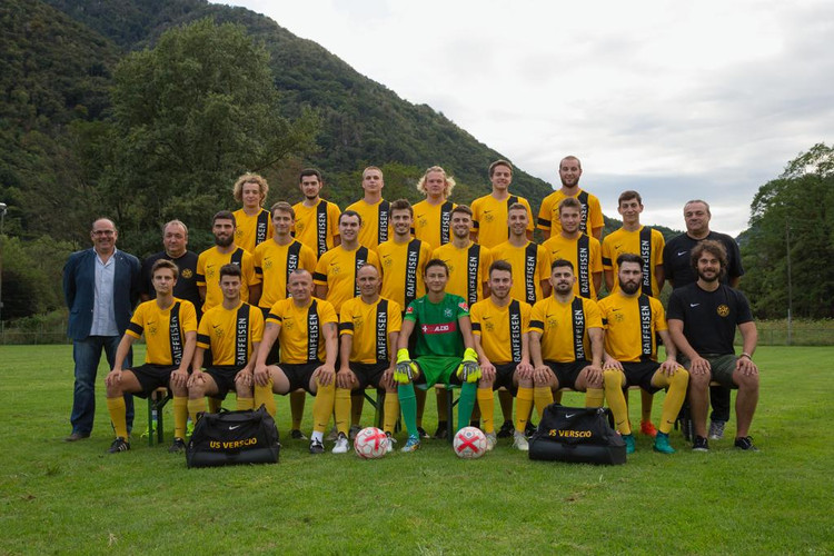 Prima squadra USV stagione 18/19