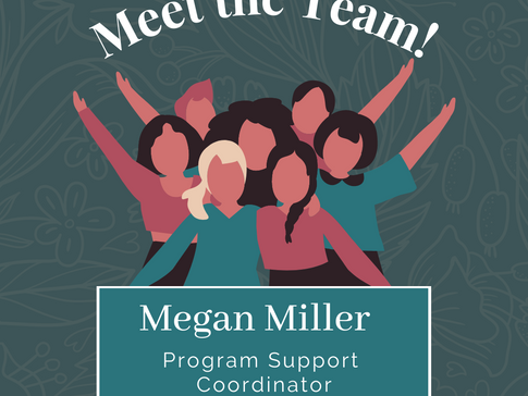 Meet our team: Megan Miller