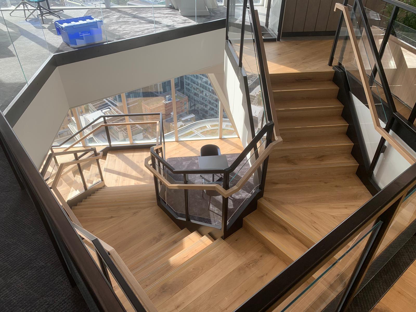 Liquidnet Staircase
