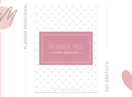 PLANNER P&B: Devocional, oração e metas! (+PDF Grátis!)
