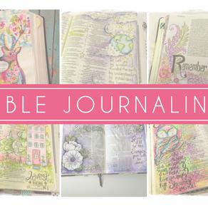 DESENHAR NA BÍBLIA?   O que é bible journaling
