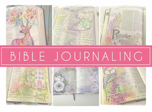 DESENHAR NA BÍBLIA? | O que é bible journaling