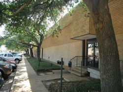 Exterior Side Door Entrance
