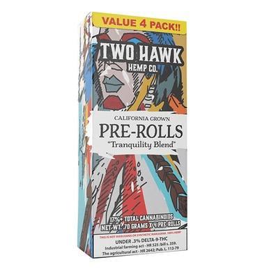 Erth - Hemp Flower - Two Hawk 4-Pack Pre-Rolls