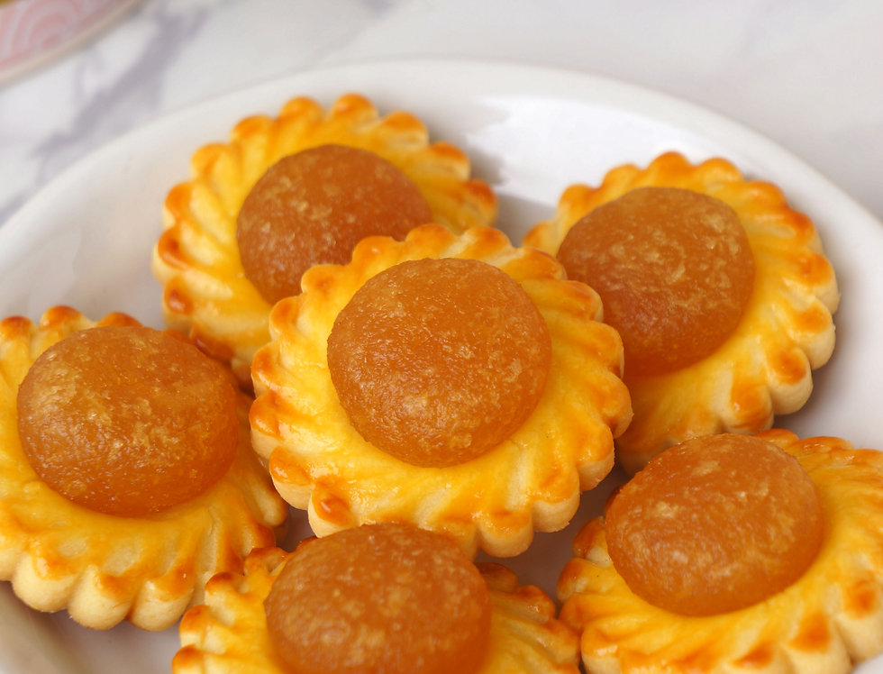 Open Face Pineapple Tarts