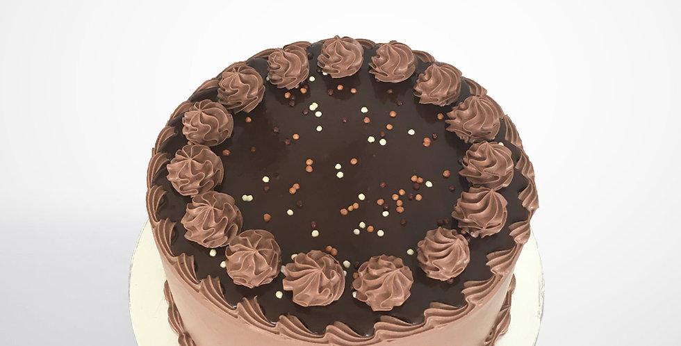 Daim Choco Caramel Cake