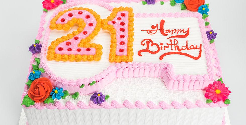 21st Birthday Key Ver 2 (Girl)