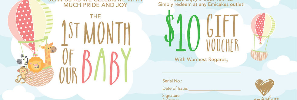 $10 Full Month Voucher
