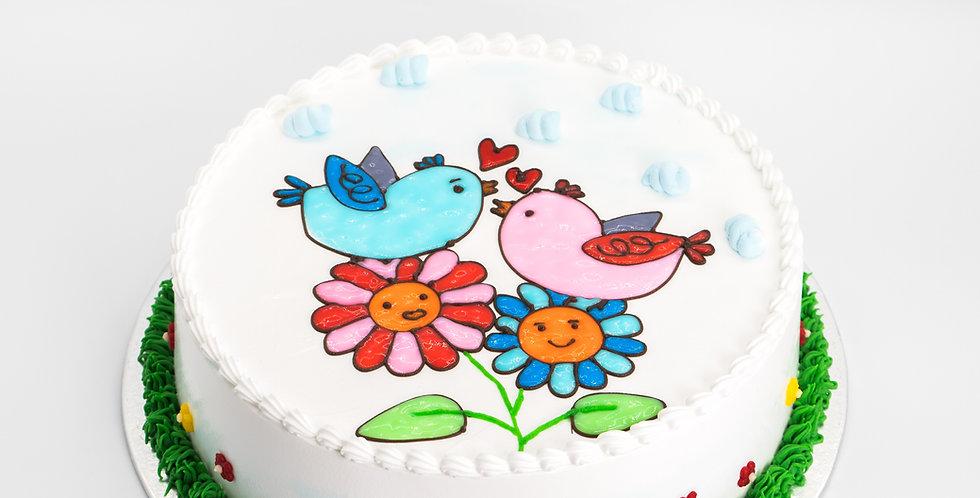 Cutie Love Birds