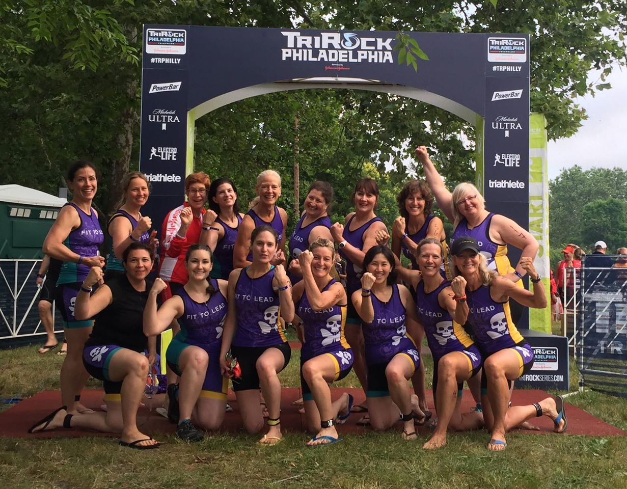 Fit to Lead Ladies at Tri Rock Philly