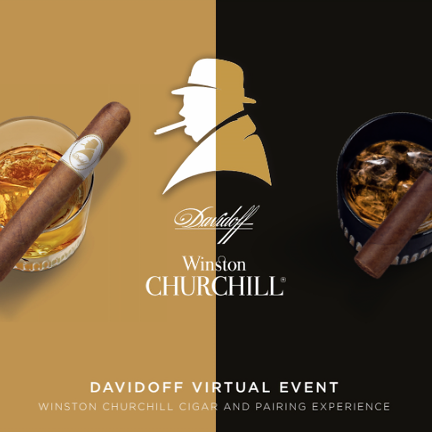 Davidoff Winston Churchill Virtual Tasting & Pairing Event