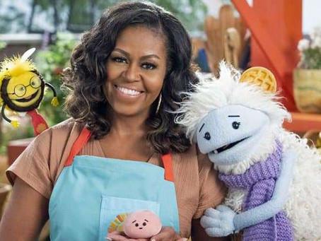 Michelle Obama annonce l'arrivée prochaine de son émission pour enfants sur netflix