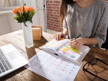 Planejamento mensal: Como eu crio equilíbrio estabelecendo metas mensais, semanais e diárias