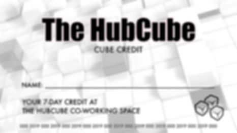 The HubCube - Cube Credit
