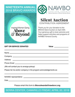 Auction Form
