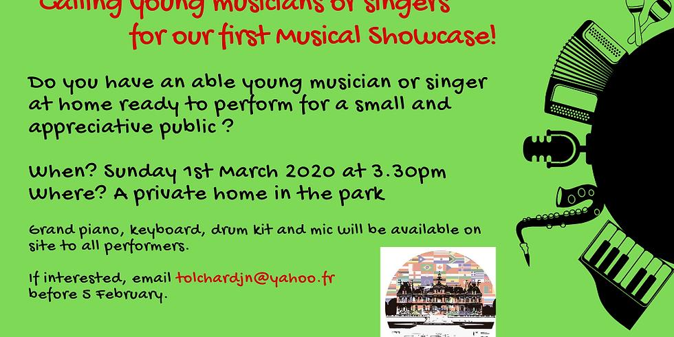 Young musician Musical Showcase