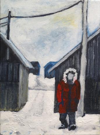 Approaching Man, Iqaluit