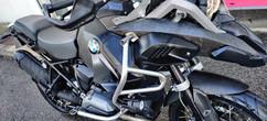 Covering BMW GS1200 Carbon et Gris