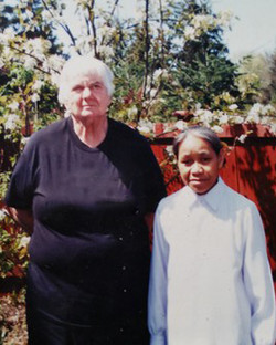 Dr. Smith and Sr. Gabrielle in the US