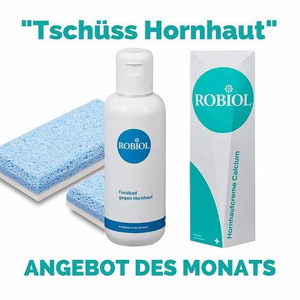 """Tschüss Hornhaut 3-teiliges Set """"portofrei"""""""