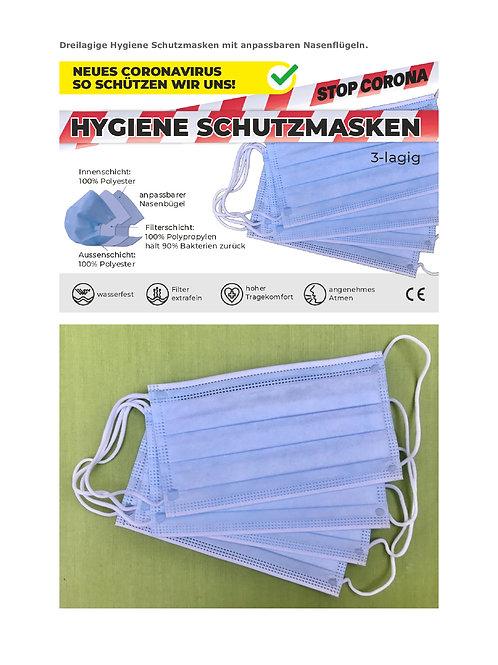 Hygiene Schutzmasken