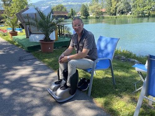 Bein und Fuss Massage Physiotherapie Gerät