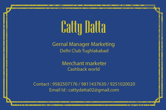 Cisiting Card Front