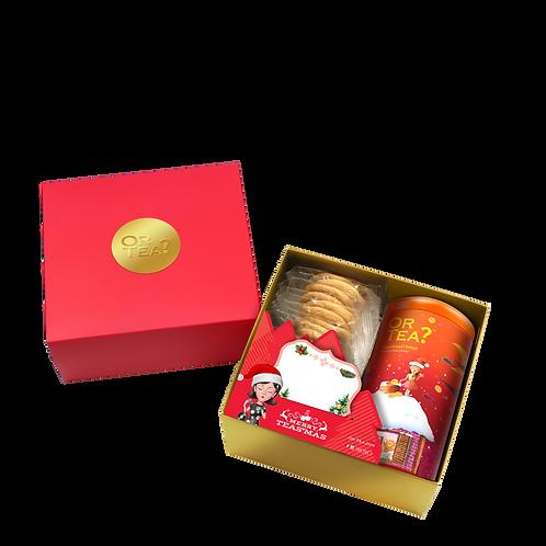 GingerBread Tin & Cookies Giftbox