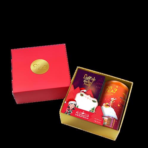 Gift Box - GingerBread Tin + Candle