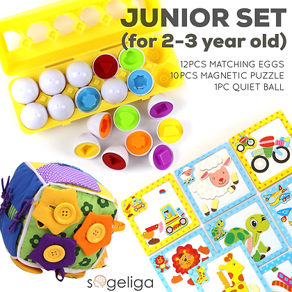 JUNIOR SET (for 2-3 year old)