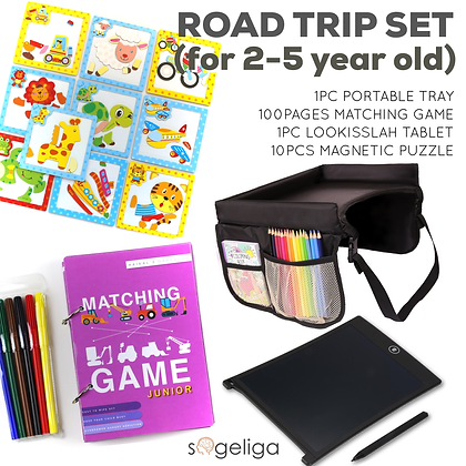 DS - ROAD TRIP SET (for 2-5 year old)