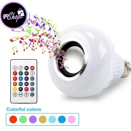Bombillo LED con parlante