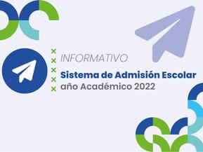 Sistema de Admisión Escolar (SAE)