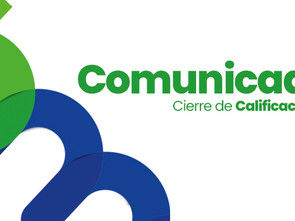 CIERRE DE CALIFICACIONES