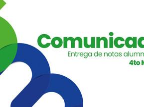 ENTREGA DE NOTAS PARA ALUMNOS DE CUARTO MEDIO GENERACIÓN 2020