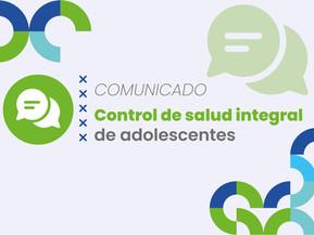 Control de Salud Integral de Adolescentes