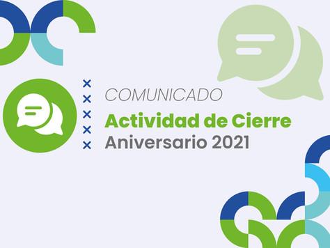 Actividad de cierre Aniversario 2021