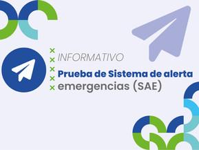 Sistema de Alerta Emergencias (SAE)