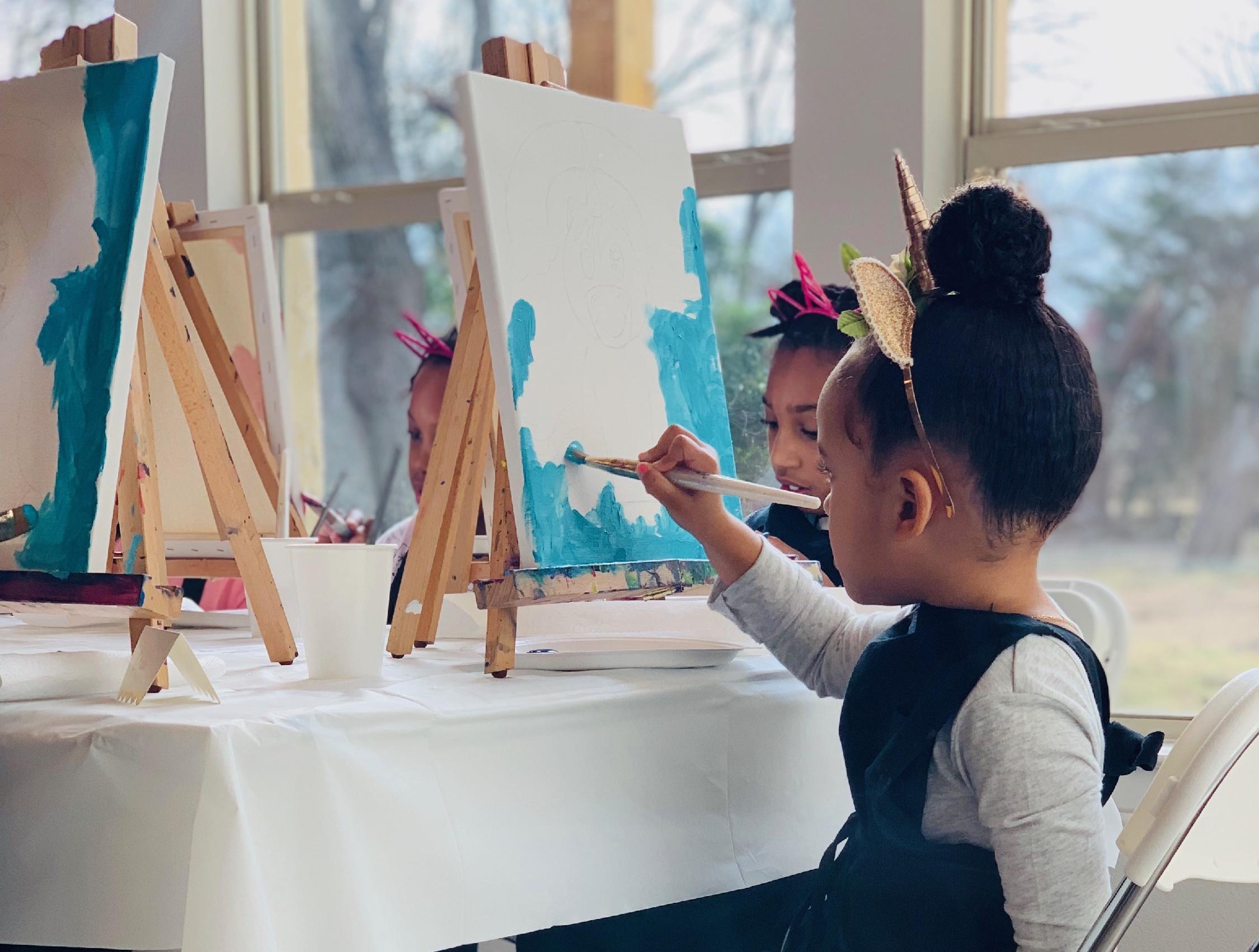1hr Child Paint (5 person min.)